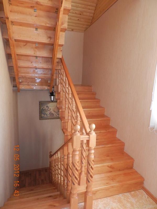 Лестница на 3 этажа